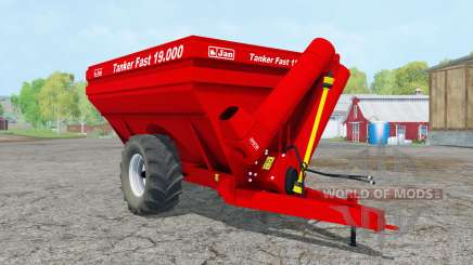 Jan Tanker Fasƫ 19.000 für Farming Simulator 2015