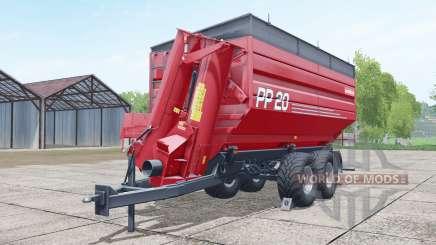 Metaltech PP 20 woodchips & chaff für Farming Simulator 2017