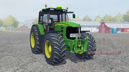 John Deere 7530 Premium moving elements pour Farming Simulator 2013