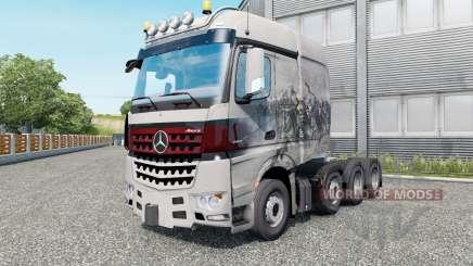 Mercedes-Benz Arocs 4158 SLT 2013 v1.5.5 für Euro Truck Simulator 2