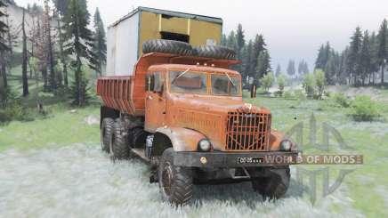 KrAZ-256Б für Spin Tires