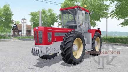 Schluter Super 2500 TVL with weight für Farming Simulator 2017