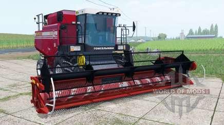 Palesse GS12 mit header SEIN für Farming Simulator 2017