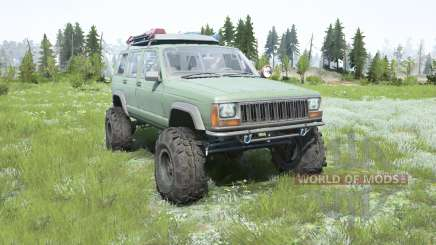 Jeep Cherokee (XJ) 1996 lifted für MudRunner