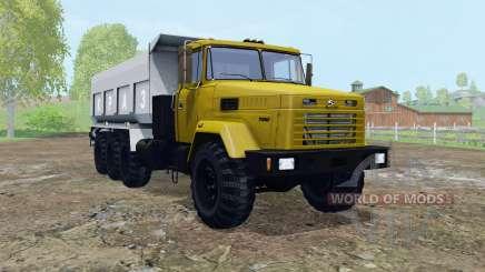 KrAZ-7140С6 beweglichen Elementen für Farming Simulator 2015