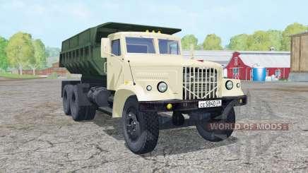 KrAZ-256Б1 animierte Elemente für Farming Simulator 2015
