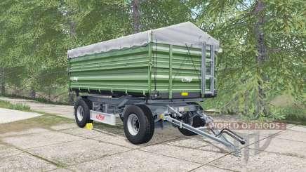 Fliegl DK 180-88 may green für Farming Simulator 2017