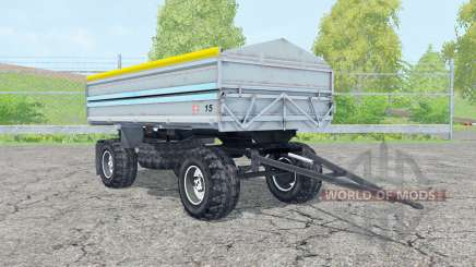 Fortschritt HW 80 pastel blue für Farming Simulator 2015