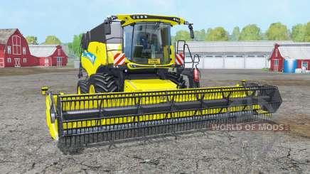 New Holland CR9.90 white & yellow rims für Farming Simulator 2015