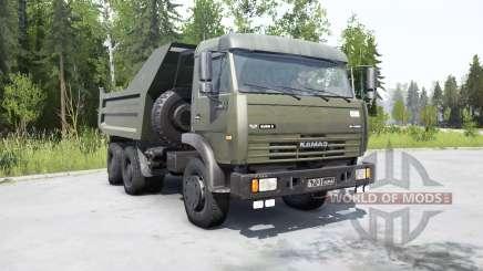 KamAZ-55111 2002 pour MudRunner