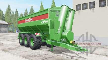 Bergmann GTW 430 multifruit für Farming Simulator 2017