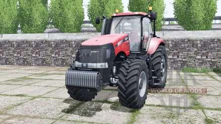 Case IH Magnum 315 CVX imperial red pour Farming Simulator 2017