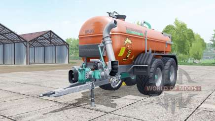 Zunhammer SKE 18500 PU brown pour Farming Simulator 2017