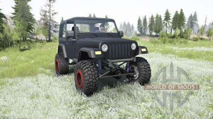 Jeep Wrangler (TJ) 2006 lifted pour MudRunner