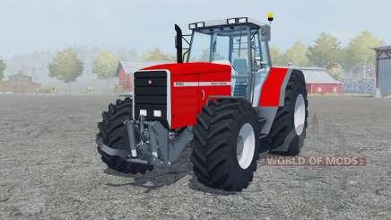 Massey Ferguson 8140 added wheels für Farming Simulator 2013
