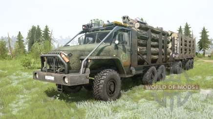 Ural-4320-10 6x6 pour MudRunner