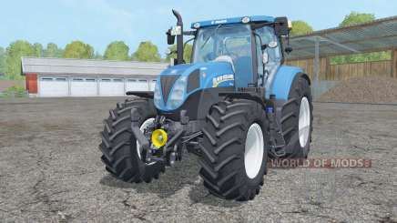 New Holland T7.210 animated element pour Farming Simulator 2015