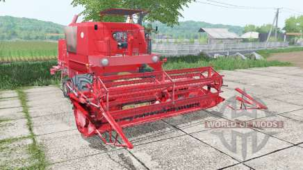 Bizon Super Z056 with header pour Farming Simulator 2017
