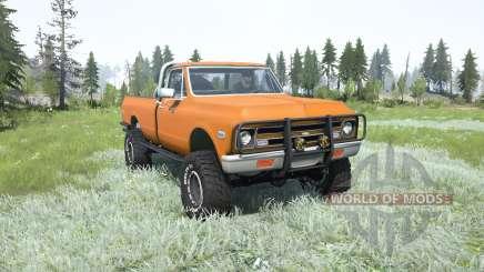 Chevrolet K10 1968 lifted pour MudRunner