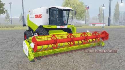 Claas Lexion 550 with headers für Farming Simulator 2013