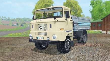 IFA W50 L kipper für Farming Simulator 2015