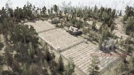 Forêt wadia pour MudRunner