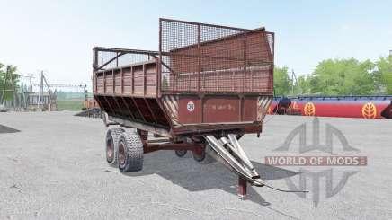 PIM-40 gris-couleur rouge pour Farming Simulator 2017