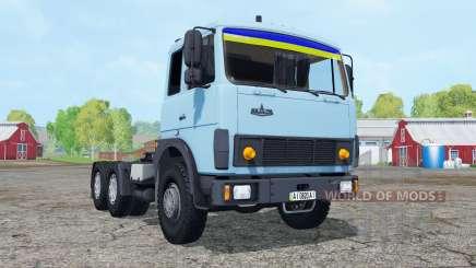 MAZ-6422 doux de couleur bleu pour Farming Simulator 2015
