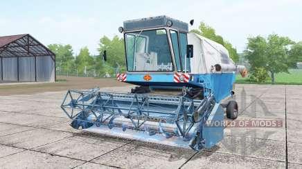 Fortschritt E 512 with header pour Farming Simulator 2017