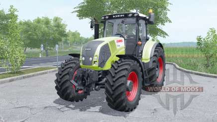 Claas Axion 810 wheels selection für Farming Simulator 2017