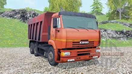 KamAZ-6520 2002 pour Farming Simulator 2015