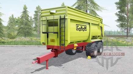 Conow TMK 22-7000 yellow-green für Farming Simulator 2017