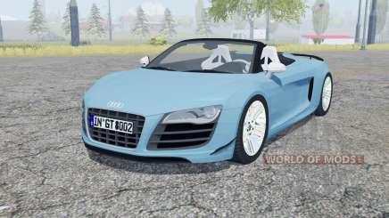 Audi R8 GT Spyder 2011 für Farming Simulator 2013