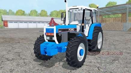 Ford 7840 dual rear wheels pour Farming Simulator 2015