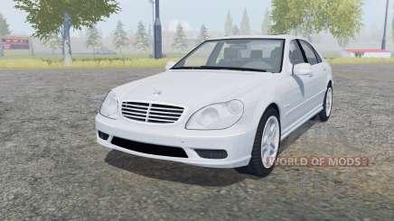 Mercedes-Benz S 65 AMG (W220) 2005 für Farming Simulator 2013