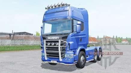 Scania R730 Topline 6x4.2 pour Farming Simulator 2017