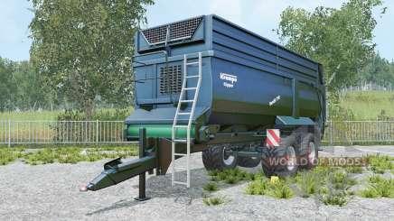 Krampe Bandit 750 yankees blue pour Farming Simulator 2015