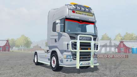 Scania R560 Highline gray pour Farming Simulator 2013