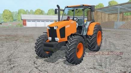 Kubota M135GX 2012 pour Farming Simulator 2015