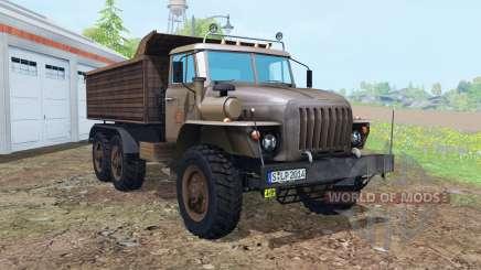 Oural-5557 6x6 pour Farming Simulator 2015