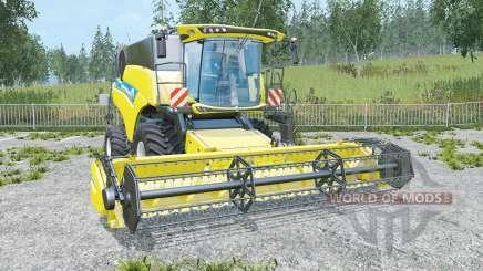 New Holland CR6.90 low compaction tires für Farming Simulator 2015