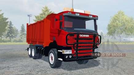 Scania P420 tipper für Farming Simulator 2013