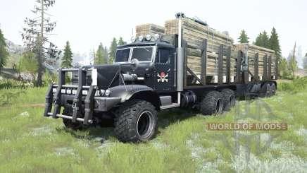 KrAZ-255Б1 personnalisé pour MudRunner
