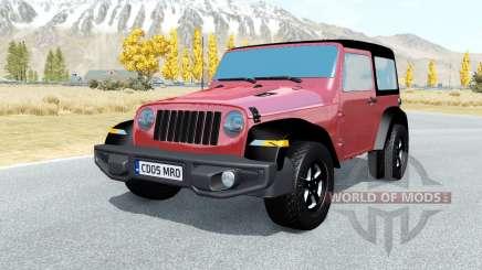 Jeep Wrangler Rubicon (JL) 2018 pour BeamNG Drive