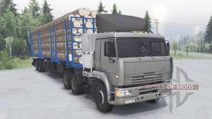 KamAZ-6460 6x4 pour Spin Tires