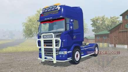 Scania R560 Topline pigment blue für Farming Simulator 2013