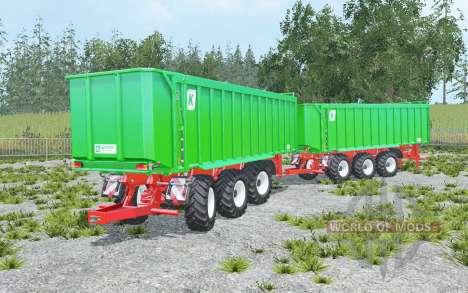 Kroger Agroliner TAW 30 convoy pour Farming Simulator 2015