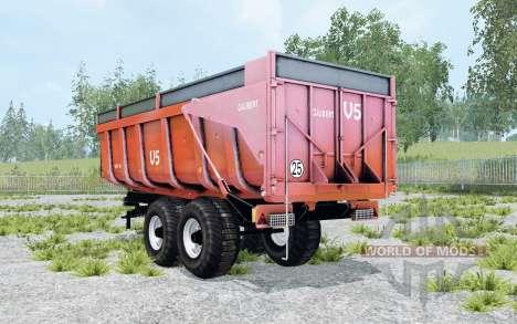 Gilibert 1800 Pro red orange pour Farming Simulator 2015