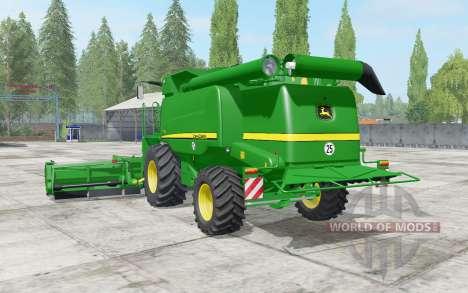 John Deere T600 dynamic hoses pour Farming Simulator 2017