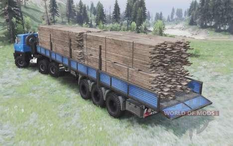 Tatra T815 v2.0 pour Spin Tires